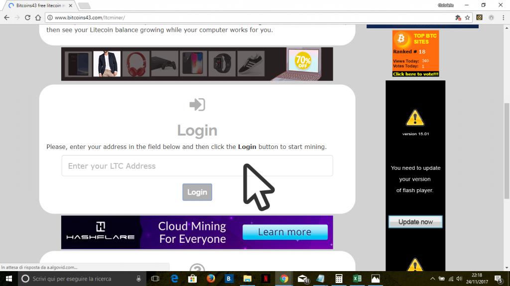 litecoin-miner-login